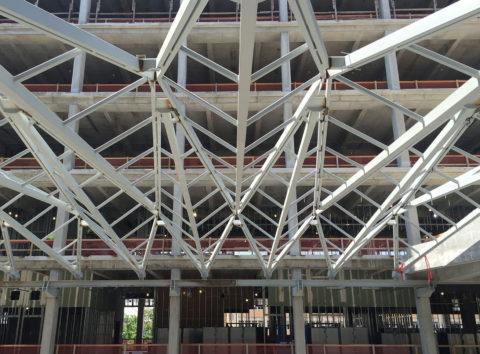 Skylight Steel Frames Atrium at the University of Texas at ennead
