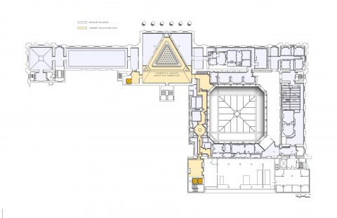 Sackler Diagram Galleries And Circulation