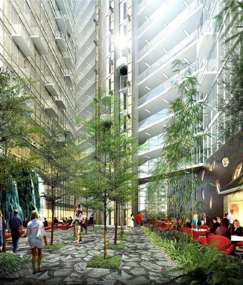 0524 Marina Hotel Atrium