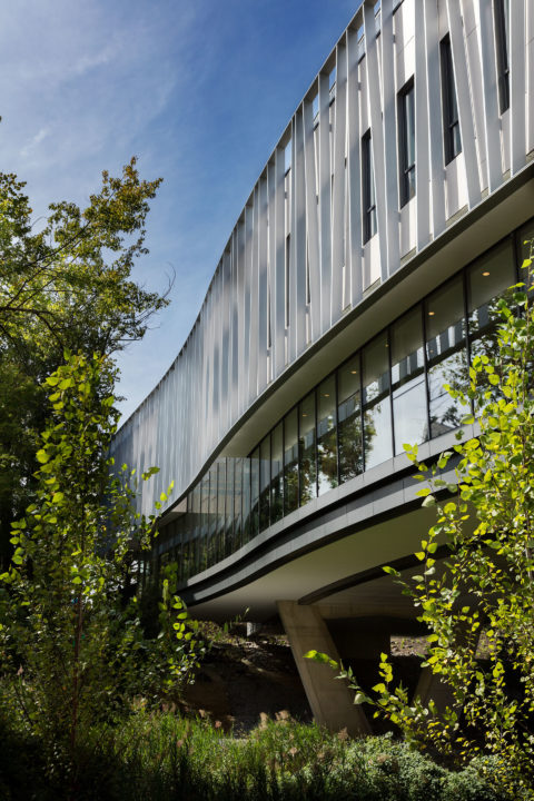 Bridge For Laboratory Sciences Southeast Exterior Detail © Lrc Group Copy