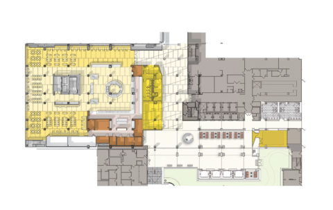 1916 1310 Cafe And Lobby Composite Plan