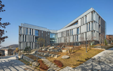 Seoul Foreign School, New High School - ennead
