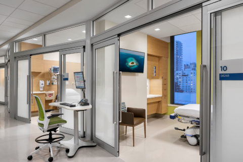 Msk Koch Center For Cancer Care Int Pacu Corridor Copyright Andrew Rugge