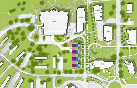 1507 Flex Lab Color Site Plan